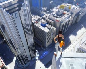 Arte conceitual do jogo Mirror's Edge