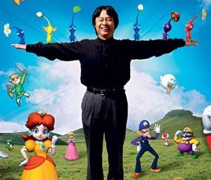 Shigeru Miyamoto, projetista dos jogos Mario e Zelda (entre outros)