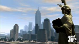 Imagem do quarto jogo da controversa série GTA.